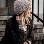 шапка лицевой вязкой